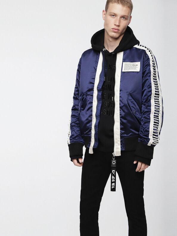J-EARLY, Blue/White - Jackets