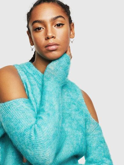 Diesel - M-LARA, Azure - Sweaters - Image 3