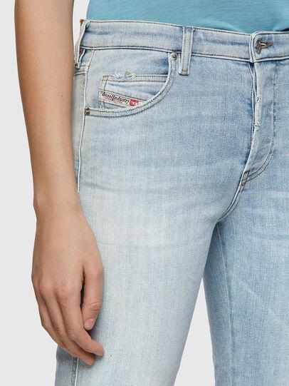 Diesel - BabhilaSlim Jeans 009ZZ, Light Blue - Jeans - Image 4