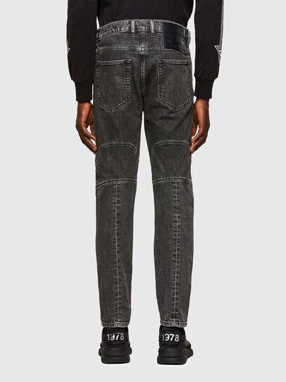 Diesel - D-Vider Carrot Jeans 009QZ, Black/Dark Grey - Jeans - Image 2
