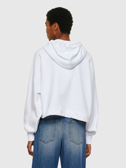 Diesel - F-CROPPY, White - Sweatshirts - Image 2