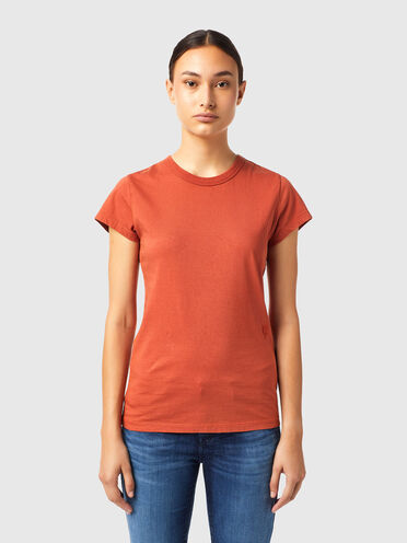 T-shirt with tonal embroidery
