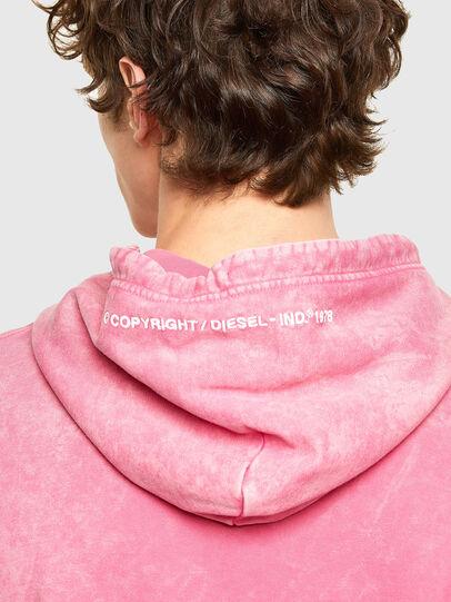 Diesel - S-UMMER-E2, Pink - Sweatshirts - Image 3