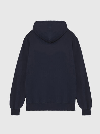 Diesel - S-GIR-HOOD-DIVISION-, Dark Blue - Sweatshirts - Image 2