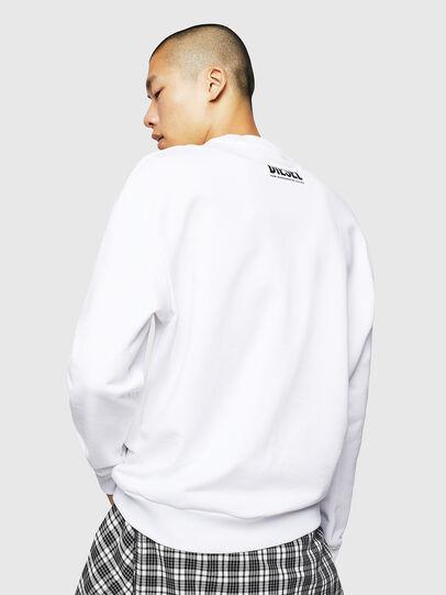 Diesel - S-LINK-MOHAWK, White - Sweatshirts - Image 2