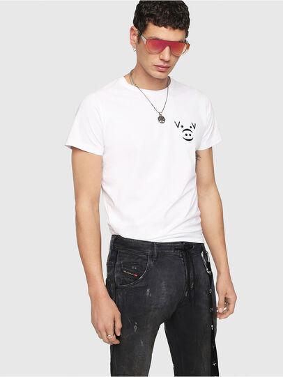 Diesel - Krooley JoggJeans 069IA, Black Jeans - Jeans - Image 4