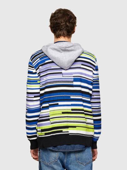 Diesel - K-CITRIN, Grey/Blue - Sweaters - Image 2