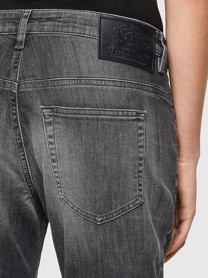 Diesel - Fayza JoggJeans® 009QT, Negro/Gris oscuro - Vaqueros - Image 4