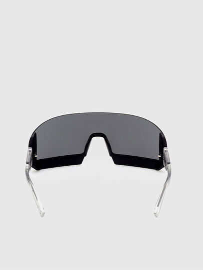 Diesel - DL0336, Black/White - Sunglasses - Image 4