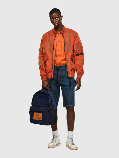 Diesel - DHORIAN C, Blue - Backpacks - Image 6