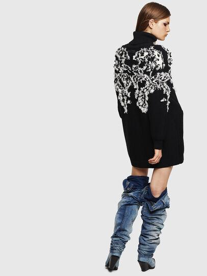 Diesel - M-CV-FURS, Black - Sweaters - Image 4