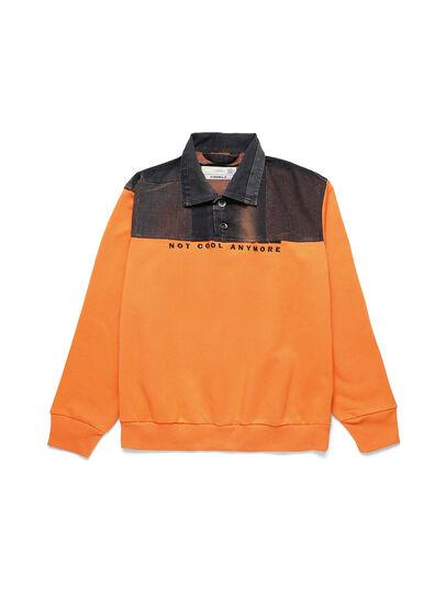 Diesel - D-BNHILL-S, Orange - Sweatshirts - Image 1