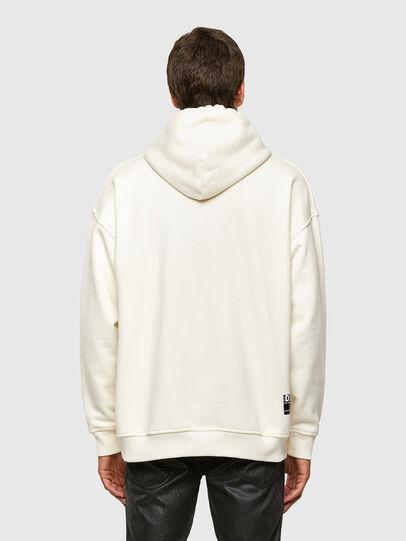 Diesel - S-UMMER-N74, White - Sweatshirts - Image 2