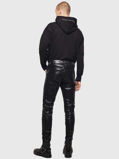Diesel - D-Istort 0094S, Black/Dark Grey - Jeans - Image 4