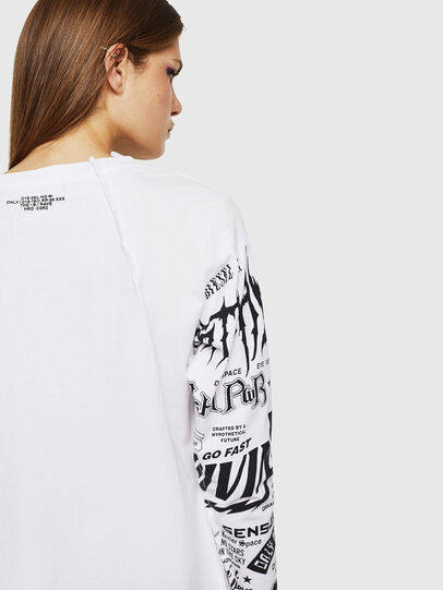 Diesel - T-PAISS, White - T-Shirts - Image 6
