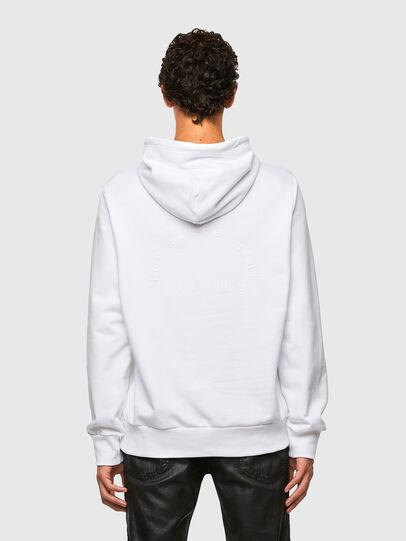 Diesel - S-GIRPO-HOOD, White - Sweatshirts - Image 2