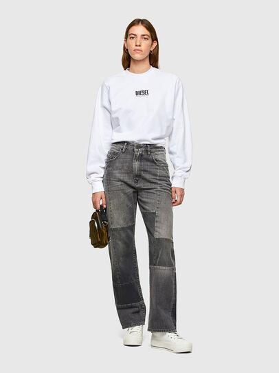 Diesel - F-ANG-SMALLOGO, White - Sweatshirts - Image 4