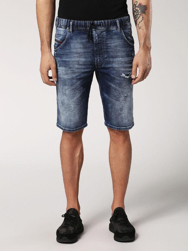 KROOSHORT JOGGJEANS, Medium Blue - Shorts