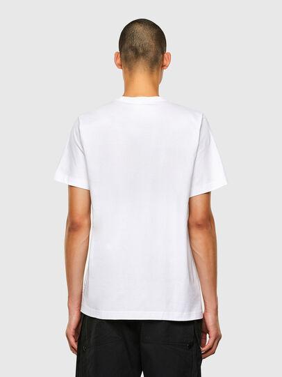 Diesel - T-TUBOLAR-N2, White - T-Shirts - Image 2