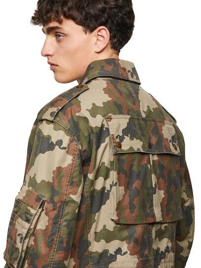 Diesel - J-LOYD-CMF, Military Green - Jackets - Image 4