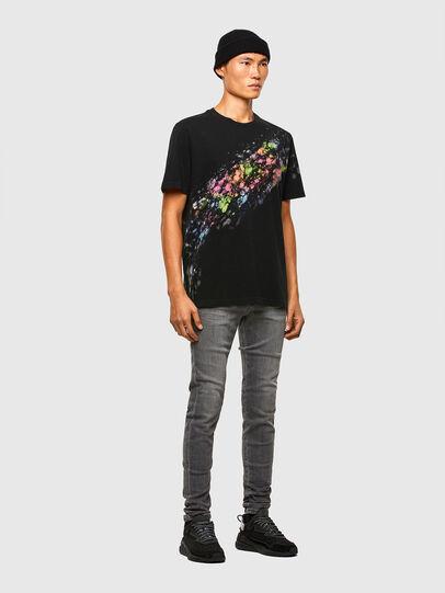 Diesel - D-Amny Skinny Jeans 009NZ, Black/Dark Grey - Jeans - Image 5