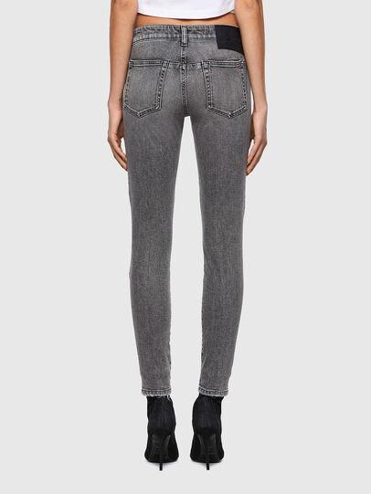Diesel - D-Jevel Slim Jeans 09A72, Light Grey - Jeans - Image 2