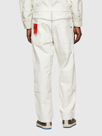 Diesel - D-Franky Straight Jeans 009ZJ, White - Jeans - Image 2
