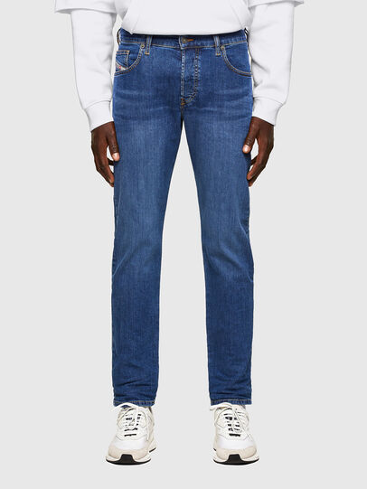 Diesel - D-Yennox Tapered Jeans 009DG, Medium Blue - Jeans - Image 1
