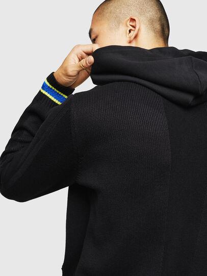 Diesel - K-SAMU, Black - Sweaters - Image 5