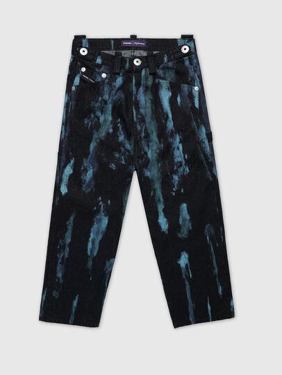 Diesel - PR-PT03A, Dark Blue - Pants - Image 1