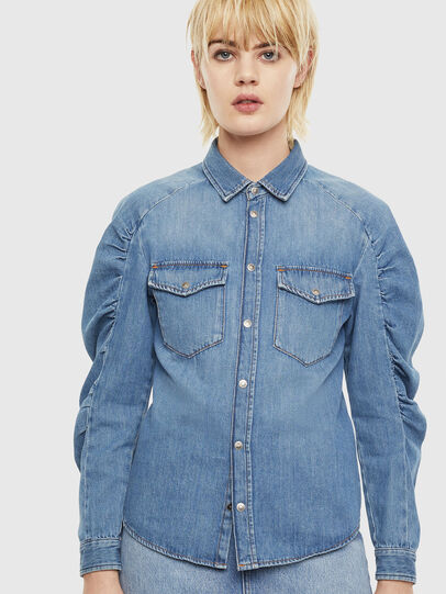 Diesel - DE-RINGY-R, Light Blue - Denim Shirts - Image 6