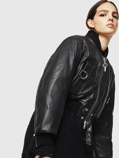 Diesel - L-MANUA,  - Leather jackets - Image 8