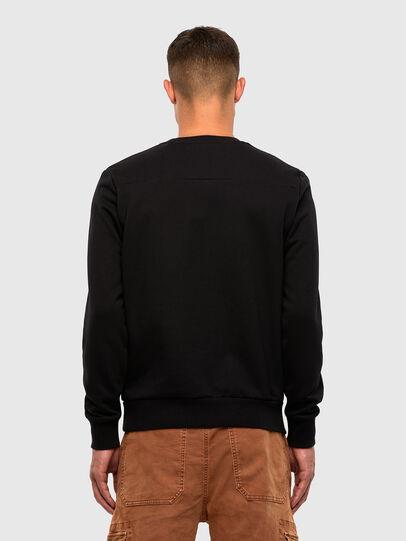 Diesel - S-CORINNE, Black - Sweatshirts - Image 2