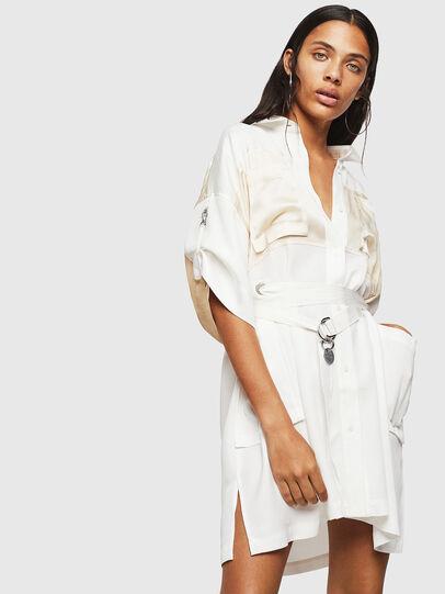 Diesel - D-TIEP, White - Dresses - Image 1