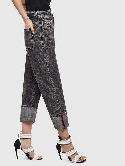 Diesel - D-Reggy 0099F, Black/Dark Grey - Jeans - Image 6