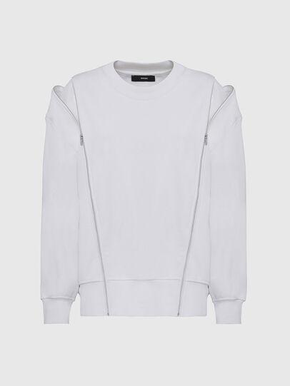 Diesel - F-GEORGIA, White - Sweatshirts - Image 3