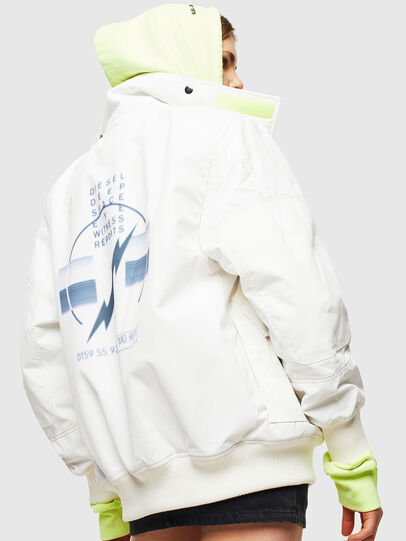 Diesel - W-OKSO, White - Winter Jackets - Image 3