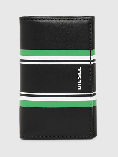 Diesel - KEYCASE O, Black/Green - Bijoux and Gadgets - Image 1
