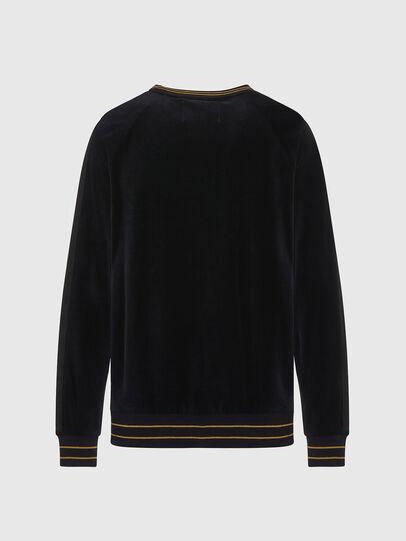 Diesel - UMLT-MAX, Black - Sweatshirts - Image 2