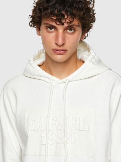 Diesel - DxD-21, White - Sweatshirts - Image 4