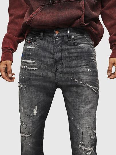 Diesel - D-Vider 083AB, Black/Dark Grey - Jeans - Image 3