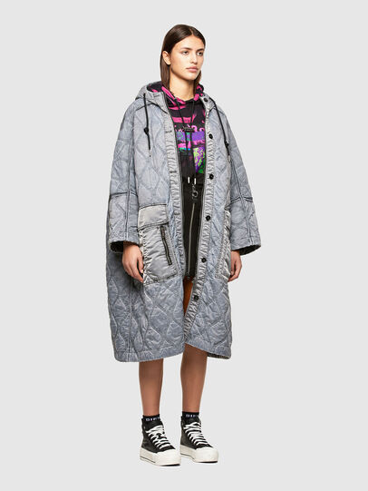 Diesel - W-DAYA, Grey - Winter Jackets - Image 6