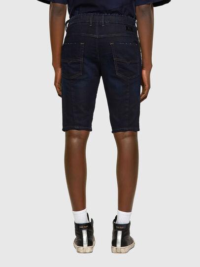 Diesel - D-KROOSHORT JOGGJEANS, Azul Oscuro - Shorts - Image 2
