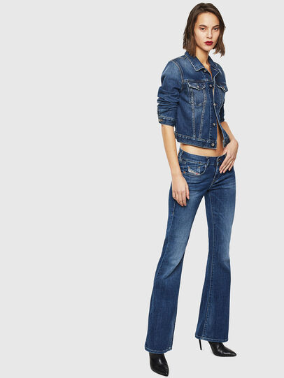 Diesel - D-Ebbey 086AM, Medium Blue - Jeans - Image 6