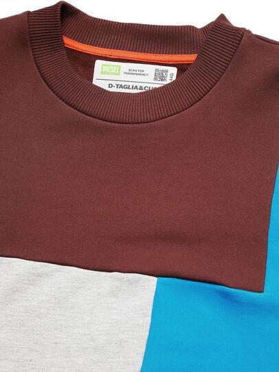 Diesel - D-TAGLIA&CUCI, Multicolor - Sweatshirts - Image 4