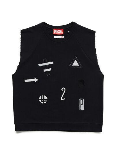 Diesel - GR02-T303, Black - T-Shirts - Image 1