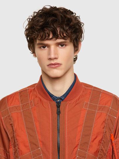 Diesel - J-OLIVE, Orange - Jackets - Image 4
