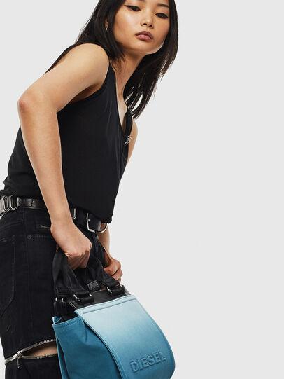 Diesel - BADIA, Light Blue - Satchels and Handbags - Image 7