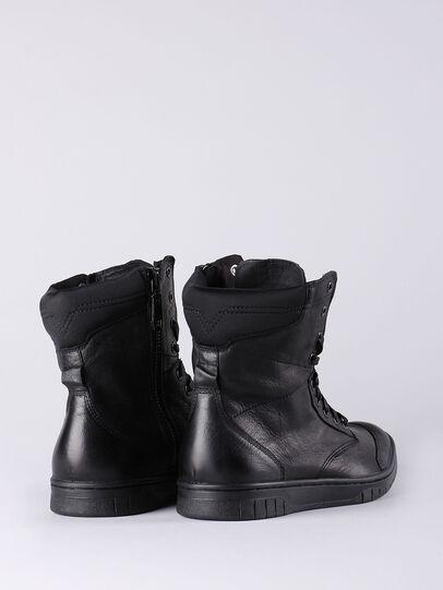 Diesel - S-BOULEVARD, Black - Boots - Image 3