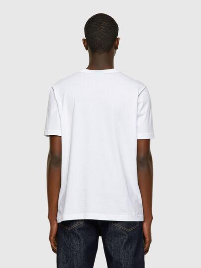 Diesel - T-JUST-INLOGO, Blanco - Camisetas - Image 2